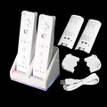 New Double Dual Charging Station Remote Charger Dock Sation Rechargeable Battery For Nintendo Wii Remote