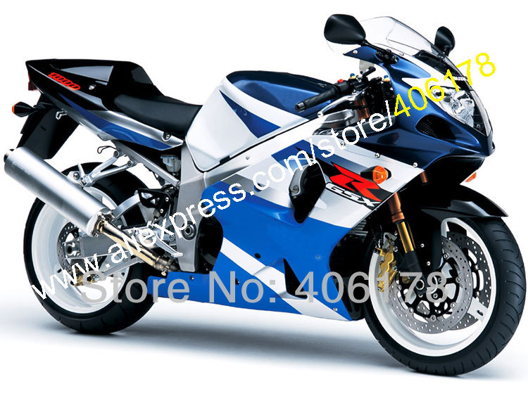 Hot Sales,Fairing Kit for Suzuki GSXR1000 2000 2001 2002 K1 GSXR 1000 00 01 02 GSX-R 1000 Blue Fairing Kits (Injection molding) casio ef 503sg 7a