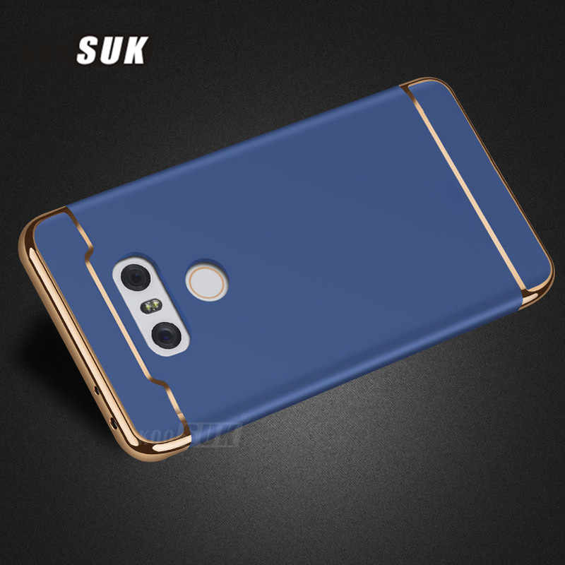 For LG G6 Case Ultra Thin PC 3 in 1 Full Protection Bags Shell Back Cover  Metal Matte Silky For LG G6 Phone Cases Coque