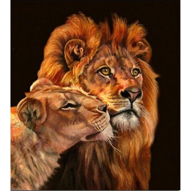 Рисунки лев для вышивки