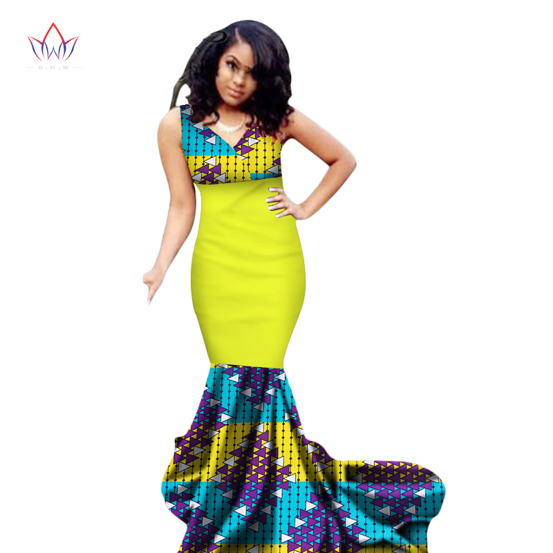 1380d1366ba Mermaid African Dresses New Arrival Sleeveless Floor Length Women Formal  Occasion Dress Africa Evening Gowns for ...