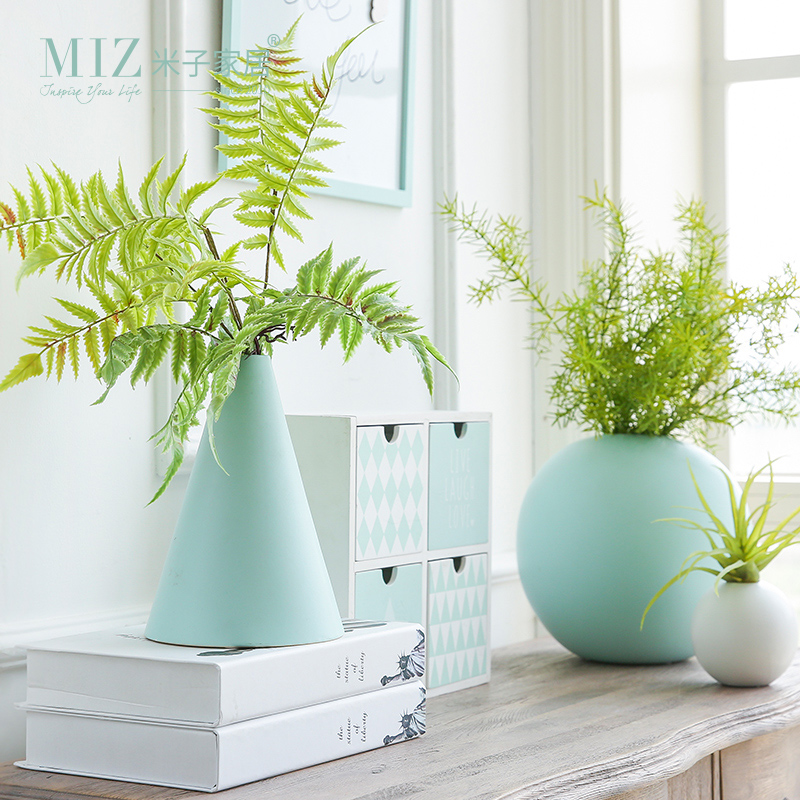 Miz 1 Piece Geometric Flower Pot For Home Decoration