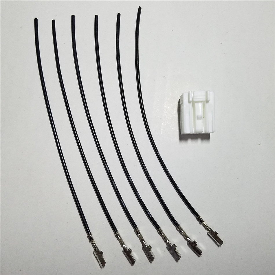 For Hyundai Kia 6pin 6way Auto Wire Plastic Connector Mg651044 Automotive Wiring Connectors To Ket 090111 6f W 090 In Car Switches Relays