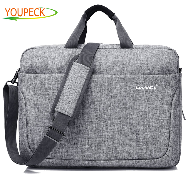 Waterproof Laptop Bag 17 3 Inch Notebook Shoulder Messenger Men Women Handbag Briefcase Business Tote