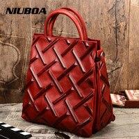 Натуральная коровья кожа женские сумки евро Винтаж женская сумка из натуральной кожи Сумка тоут Высокое качество дизайнерские Роскошные п