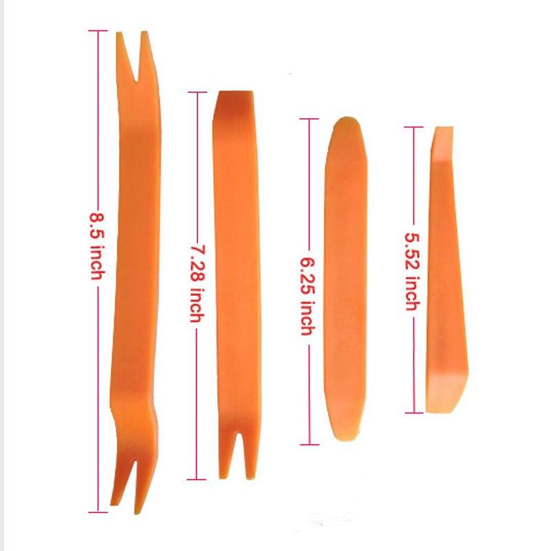 12 Pcs SeT Plastic Car Radio Door Clip Panel Trim Dash Audio Removal Pry Tool Repairing in Hand Tool Sets from Tools
