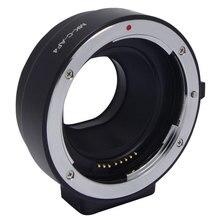 Meike elektronicznych automatyczne ustawianie ostrości Adapter przedłużka do aparatu canon EF EF S obiektywu, aby EOS M M1 M2 M3 M5 M6 M10 EF M mocowanie kamery MK C AF4