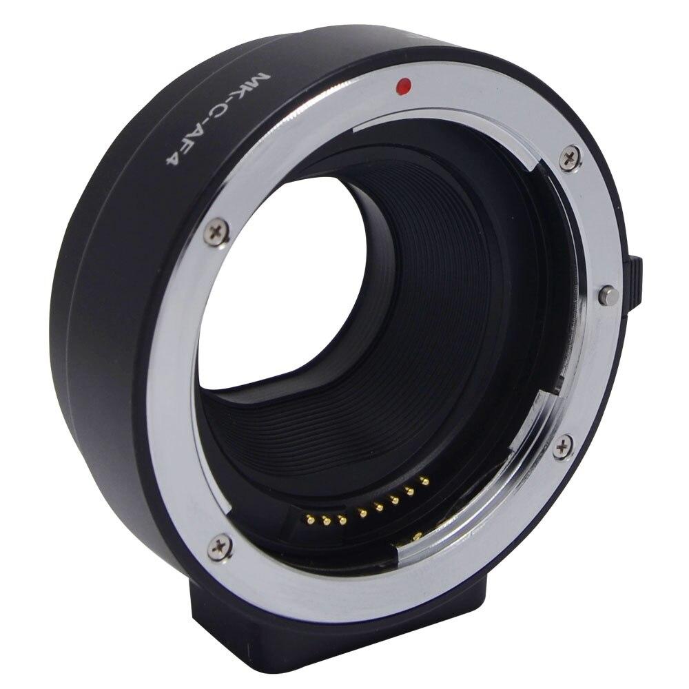 Meike eletrônico adaptador de foco automático tubo extensão para canon ef EF-S lente para eos m m1 m2 m3 m5 m6 m10 EF-M montagem da câmera MK-C-AF4