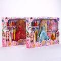 НОВАЯ Блондинка/Каштановые Волосы Девушка Куклы Реалистичные Baby Toys Подарок На День Рождения для Девочек, Как Американская Девушка переодеться Кукол