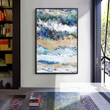 Modern Abstract Art Deco Oil Painting on Canvas Wall Art Picture Home Decor Living Room Impressionism Paintings