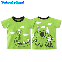 Brand New Top Kids Boys Girls T-shirts 100% Cotton Summer Short Sleeve Tops Childrens Clothing Boy Girl Tees Baby Clothes