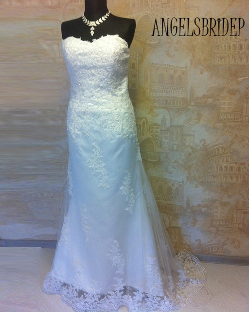 New White/ivory Lace Wedding Dress Custom Size 2 4 6 8 10 12 14 16 18 20 22+++++-in Wedding Dresses from Weddings & Events on Aliexpress.com   Alibaba ...