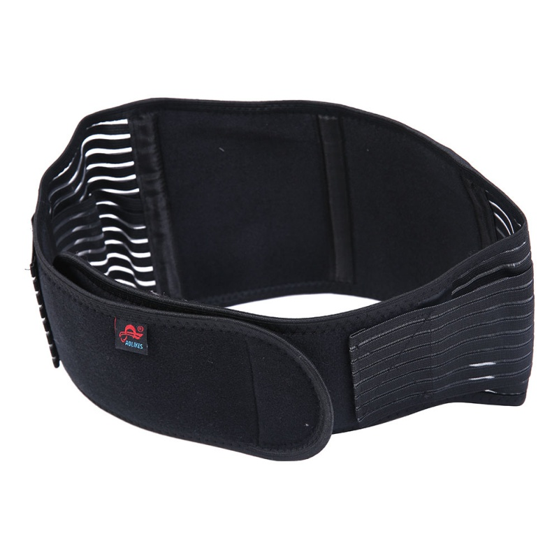 Hot Sale 11 Tourmaline Products Self-heating Magnetic Waist Back Support Brace Belt Lumbar Protector Posture Corrector