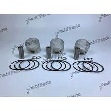 Для Kubota D722 поршень+ D722 поршень кольцо+ 0,5