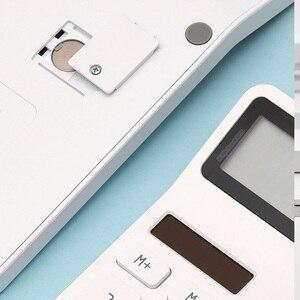 Image 3 - Youpin Kaco ليمو آلة حاسبة شاشة الكريستال السائل ذكي اغلاق وظيفة حاسبة طالب حساب أداة لا بطارية