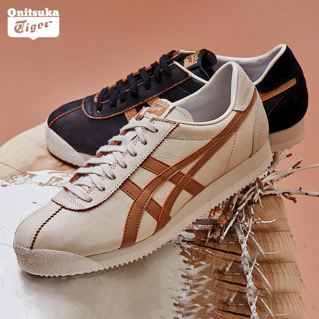 newest 310ad 49465 US $276.67 |Onitsuka Tiger Vintage Casual Shoes for Women Men Winter 18 New  The Same As Li Yuchun Comfortable Sneaker TIGER CORSAIR 1183A055-in ...