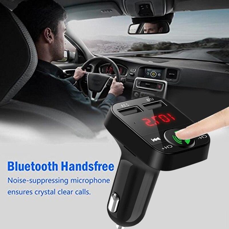 Bluetooth аудио приемник 2,1+ EDR Беспроводной bluetooth-приемник микрофон музыка универсальный автомобильный комплект громкой связи
