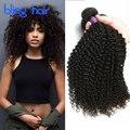 Bling Волосы Перуанский Вьющиеся Волосы Афро Кудрявый Вьющиеся 3 Пучки 7А Класс Перуанский Kinky Вьющиеся Волосы Девственницы Необработанные Человеческие Волосы переплетения