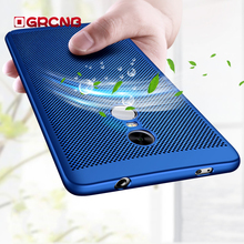 Luxury Heat dissipation Phone Hard Back PC Case For Xiaomi Redmi NOTE 4 4X Pro Full Cover For Redmi NOTE 4X Cases Protect Shell