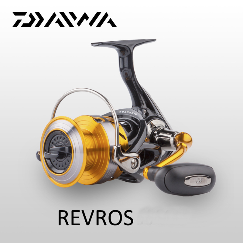 цена на DAIWA Original Daiwa Spinning Fishing Reel REVROS A series 5 Ball Bearing Saltwater Freshwater Carp Feeder Wheel with Air Rotor