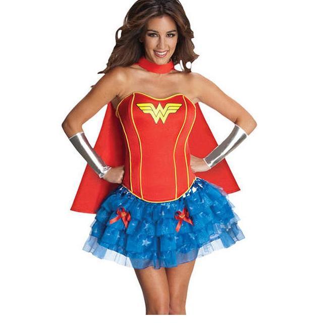 Sexy adult superhero costumes