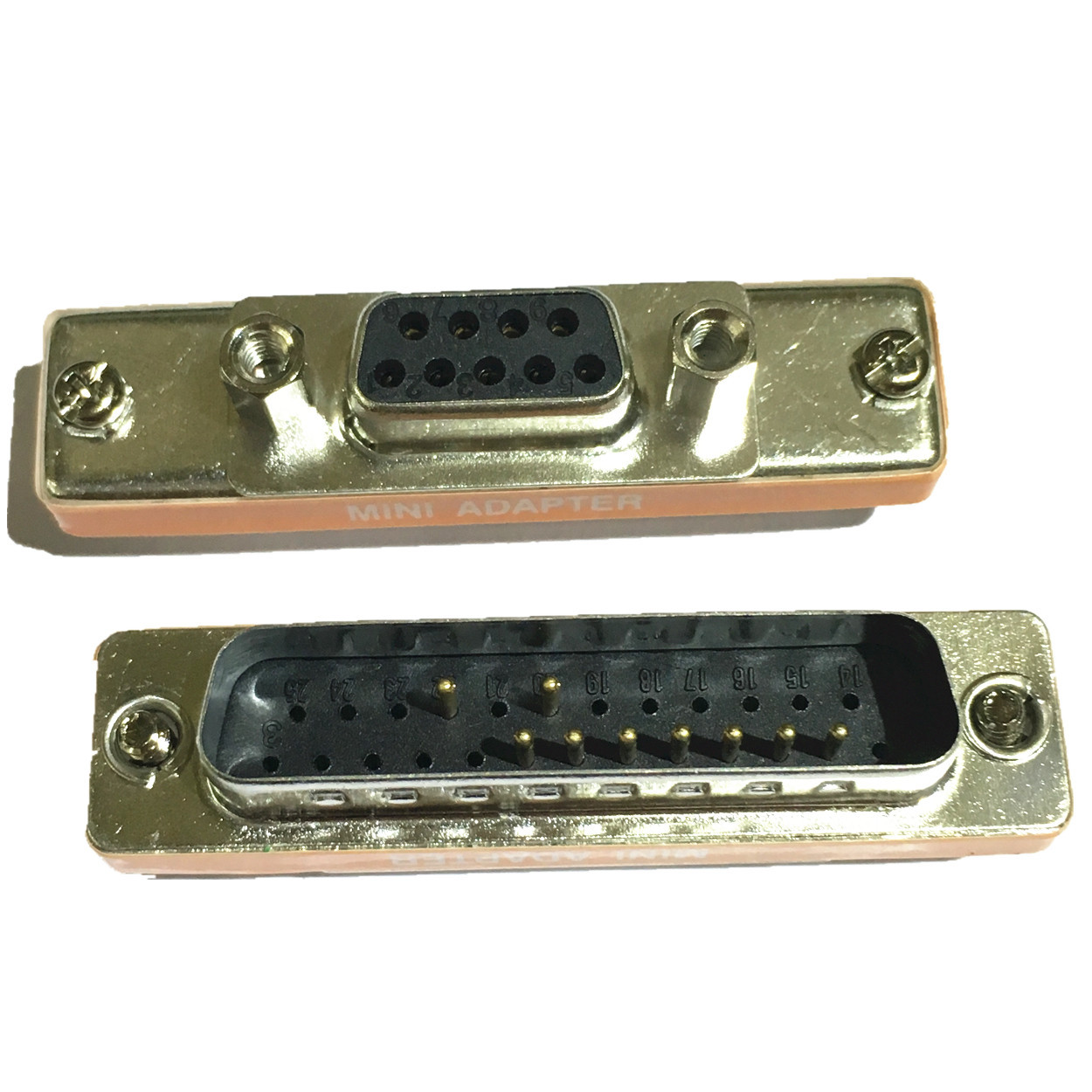 DB9 female DB25 male 9P female 25P male RS232 connector D9