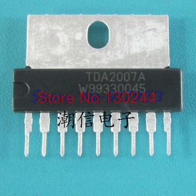 1pcs/lot <font><b>TDA2007</b></font> TDA2007A ZIP-9 In Stock image