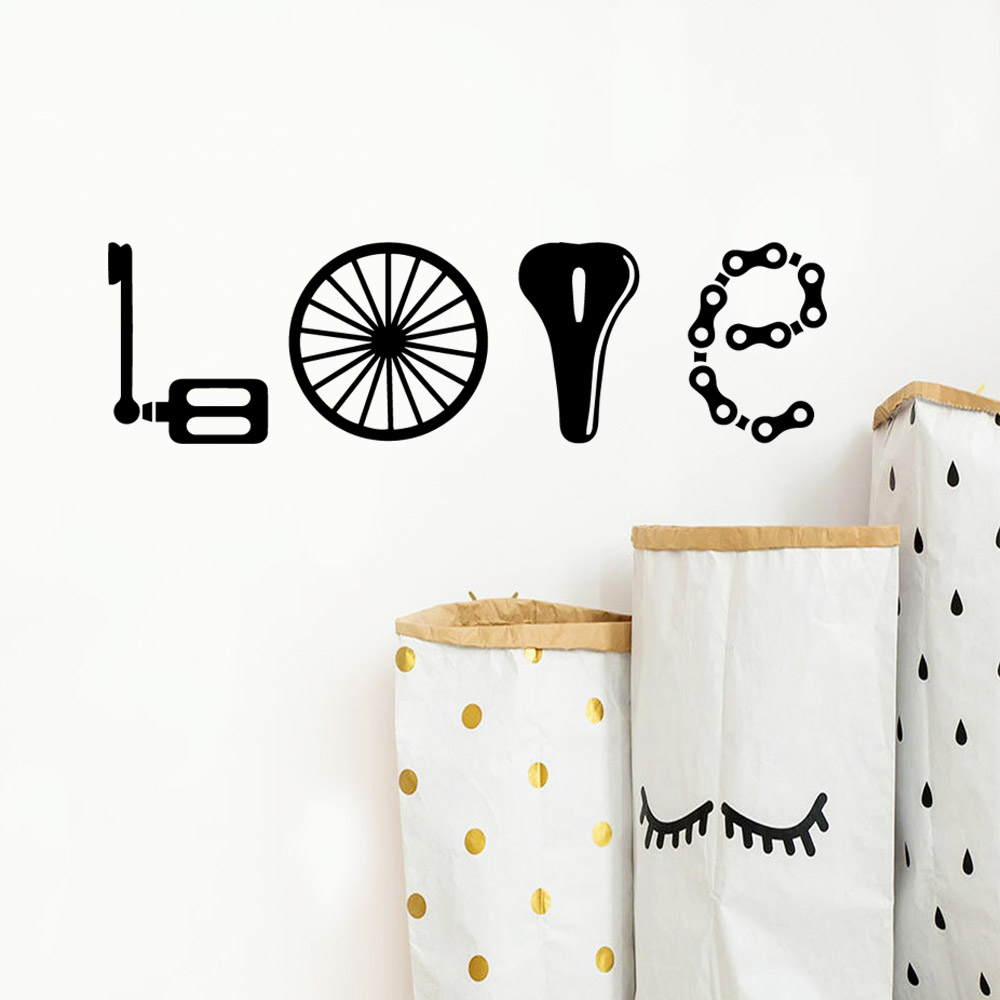 Hot love dentistry Vinyl Kitchen Wall Stickers Wallpaper Pvc Wall Decals Wall Decoration Murals in Wall Stickers from Home Garden