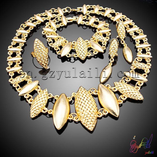 Aliexpress Com Buy Free Shipping Wedding Gold Filed Ornament Set