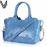 93b6c9ee0bfc Veevanv 2016 новое поступление сумки для Для женщин PU Змеиный узор Сумки  на плечо Курьерские сумки