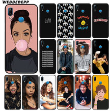 WEBBEDEPP Liza Koshy David добрик мягкий чехол для huawei P30 P20 Pro P10 P9 Lite 2017 P Smart 2019 & Nova 3 3i Y9 2019(China)