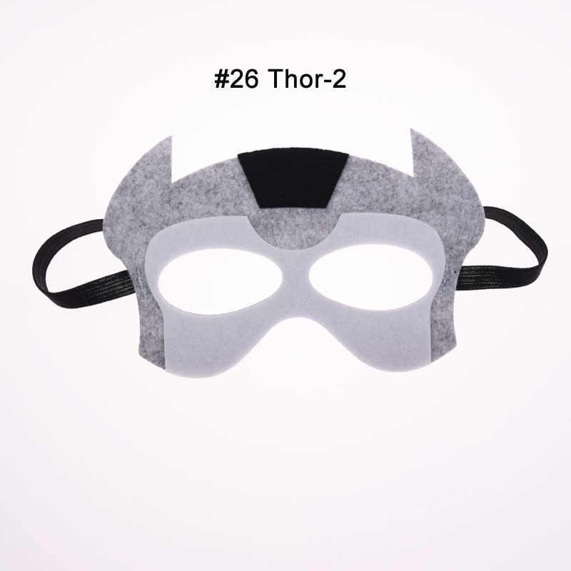 Máscara Hulk Batman Joker superhéroe cosplay de Thor Flash Superman vengadores Star Wars navidad niños fiesta mascarada máscaras de disfraces