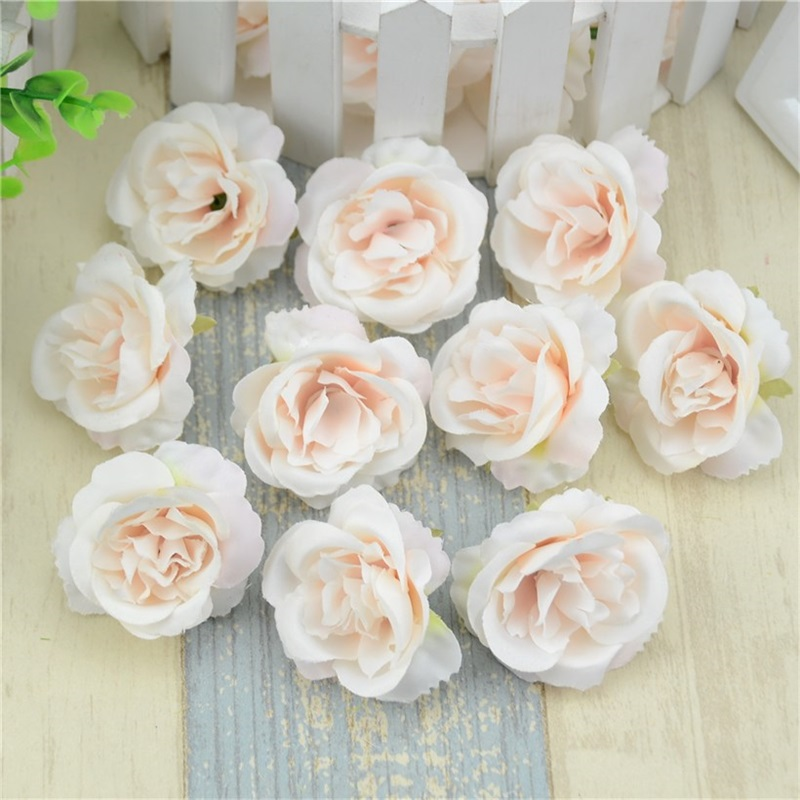15cm Artificial Flowers Rose Kissing Pomanders Silk Flower Ball Centerpieces For Wedding Decorations