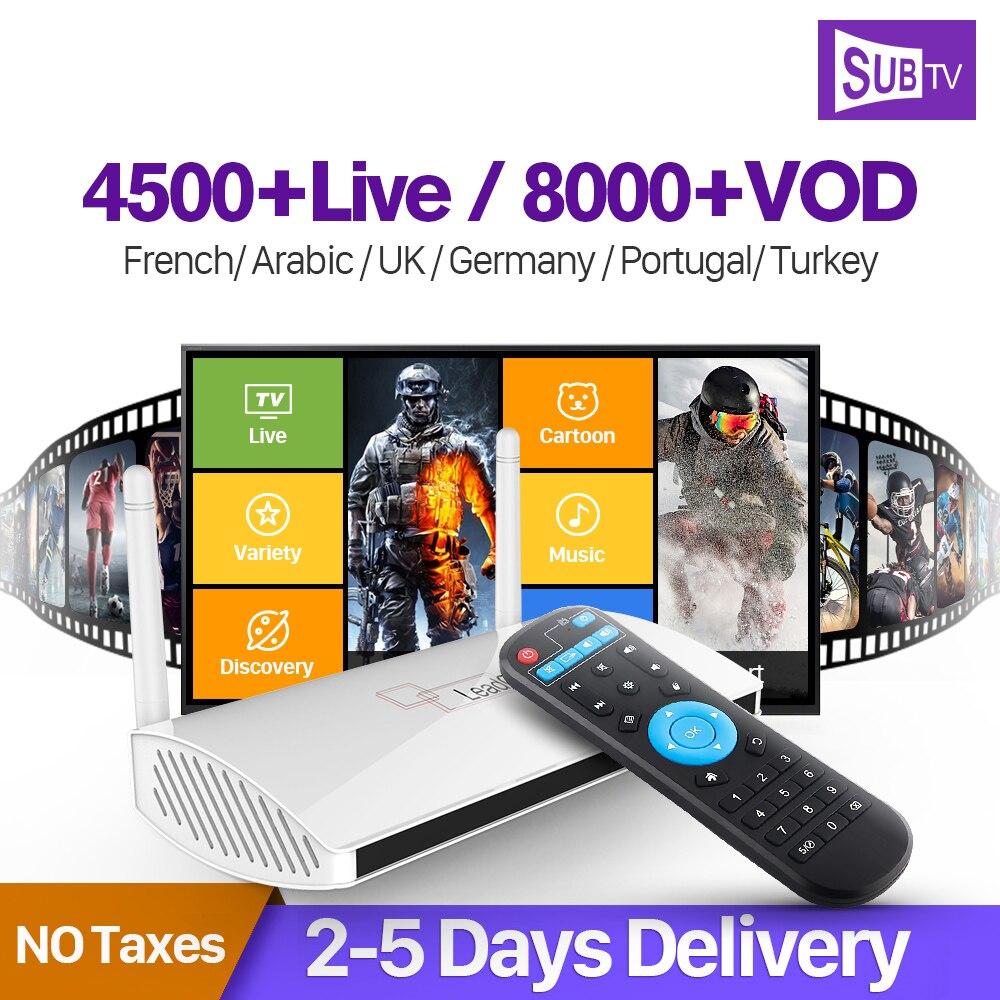 Arabisch Frankreich IPTV Belgien Niederlande Leadcool Android Box Rk3229 SUBTV Abonnement 1 Jahr IPTV Italien Türkischen IP TV Empfänger-in Digitalempfänger aus Verbraucherelektronik bei  Gruppe 1