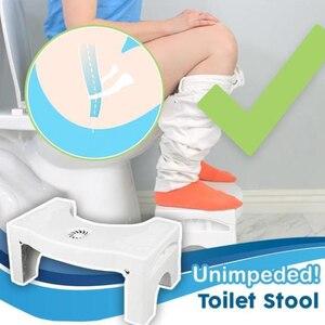 Image 2 - Multi função dobrável toalete banqueta banheiro potty toalete agachamento postura adequada passo portátil para casa de banho transporte da gota