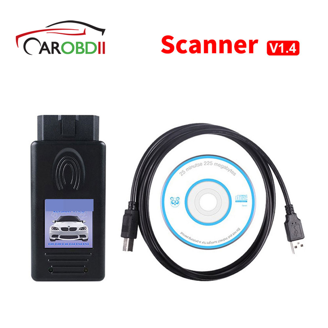 Special Price 2018 OBD Diagnsotic Tool  Auto Scanner 1.4 For B-M-W Scanner 1.4.0 Version OBD2 Code Reader 1.4