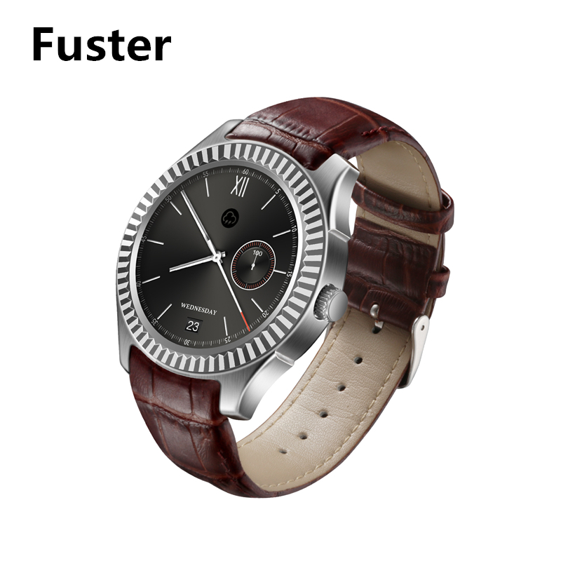 Fuster 3G WCDMA Android Smart Watch Wifi GPS Smartwatch 1.3 inch Round Touch Screen Wristwatch with Play Store Facebook Skype imacwear sparta m7 1 54 inch touch screen 3g smart watch phone ip67