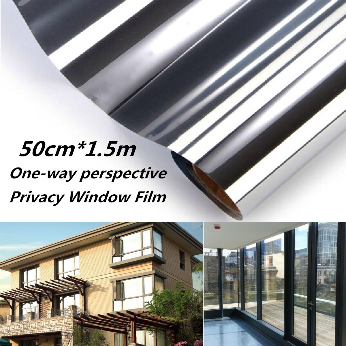 Online buy wholesale privacy mirror from china privacy for 1 way window film