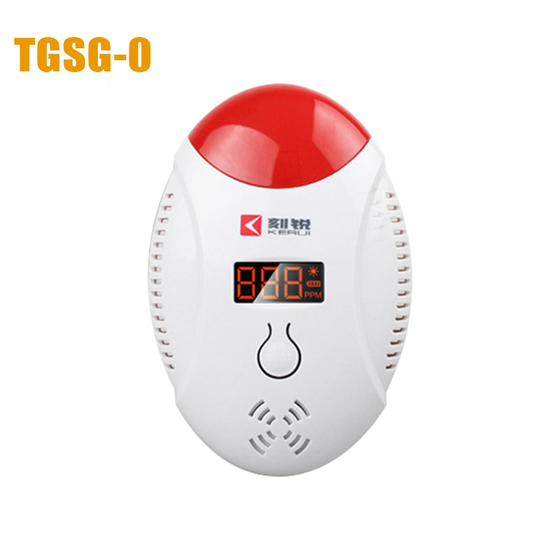 HA-03 home Carbon monoxide alarm Chinese and English switch used 3 pieces AAA battery Simple wall mounting Gas Alarm