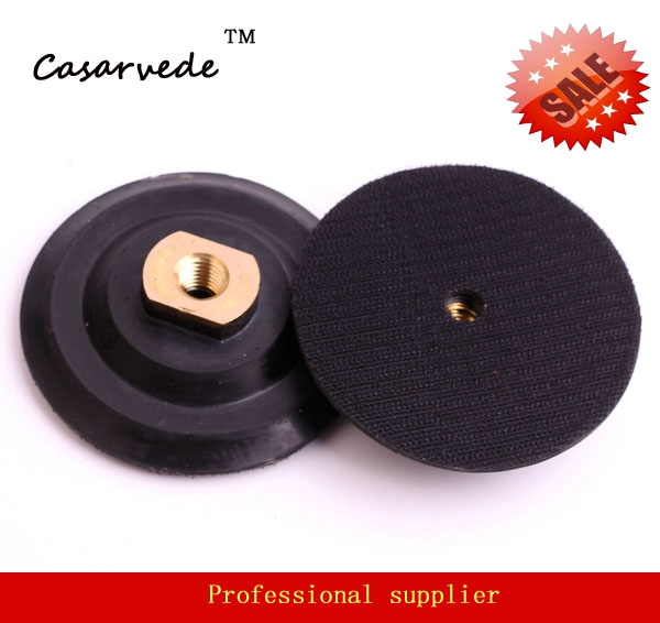 5 inch 125mm flexible Rubber backer pad for M14  connector for Angle grinder
