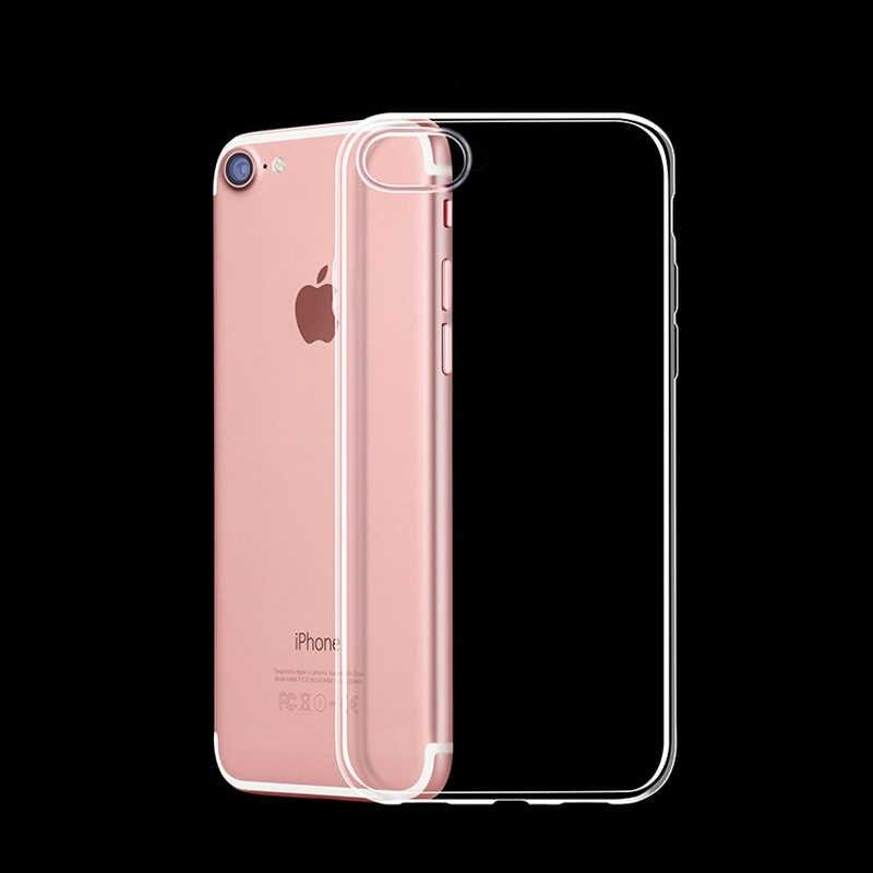 Funda de teléfono de Gel de silicona transparente de TPU suave 2019 para iPhone XS MAX XR 7 8 6 6S Plus 5 5S X 11