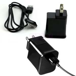 OOTDTY Travel Wall Charger Cable For Samsung Galaxy Tab 2 Tablet 7/8. 9/10.1""