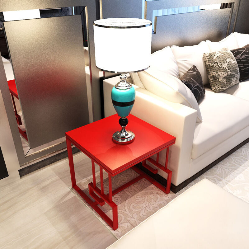 Modern Minimalist Living Room Small Assemble Tea Table Sofa Side Cabinet  Table Corner Small Glass Side Table In Coffee Tables From Furniture On ...