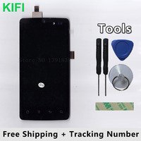 100 QC PASS LCD Display Touch Screen Digitizer Glass Panel For Highscreen Omega Q