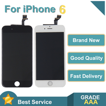 White&Black AAAAA Brand New For iPhone 6 6G LCD Display Touch Screen Digitizer Assembly For iPhone6 4.7'' No Dead Pixel + Gift все цены