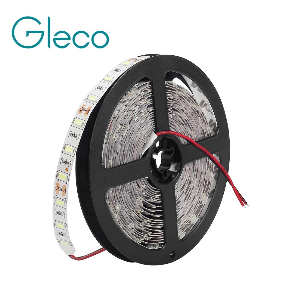 001c8cbb25c2b0 DC12V taśmy LED 5730 SMD 60LED/m 5 m/partia IP20 IP65 wodoodporna  elastyczna strlight Jaśniejsze niż 5050 5630 LED pasek Światła