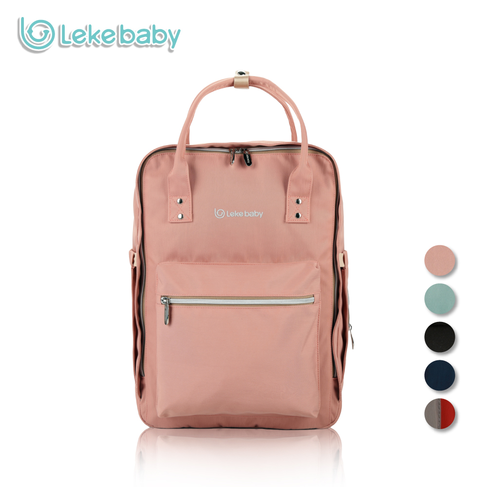 Lekebaby Fashion Mom Maternity Bag Diaper Bag Large Capacity Baby Care Nappy Changing Bag Travel Backpack Designer for Stroller mommy bag for baby care cartoon pattern maternity bag for cart large capacity travel backpack mom nappy diaper bag for stroller