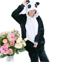 Novelty Animal Pijama De Panda Bear Pajamas Onesie For Women Men Adults Hooded Cosplay Costumes
