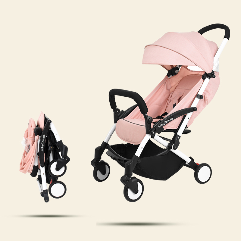Stroller, With, Lightweight, Car, Folding, Pram