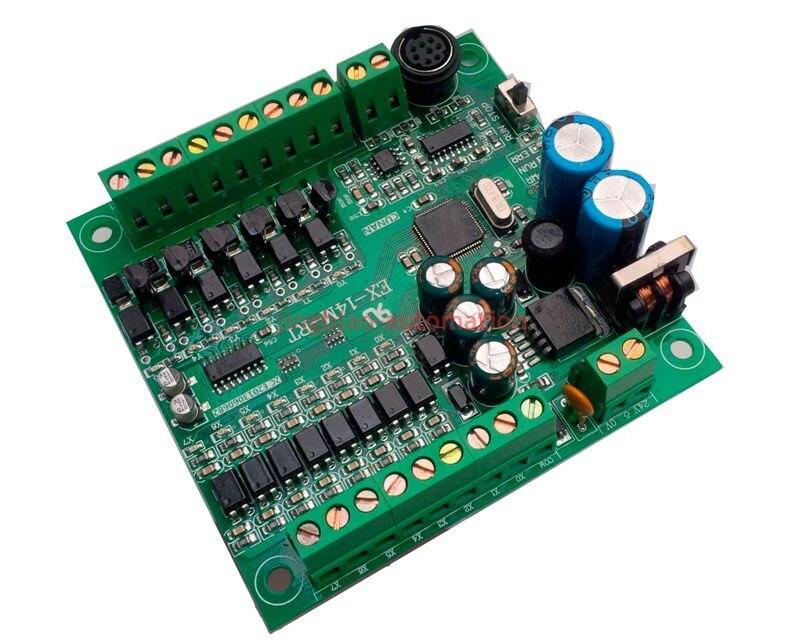 EX1S FX1S 14MT programmable logic controller 8 input 6 output RS485 Modbus RTU  plc controller automation controls plc system new original programmable logic controller vb0 14mr d plc 24vdc 8 point input 6 point output main unit